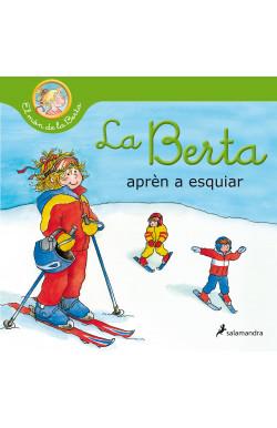 La Berta aprèn a esquiar...