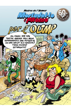 Mortadel·lo i Filemó. Per l'Olimp (Mestres de l'Humor 50)