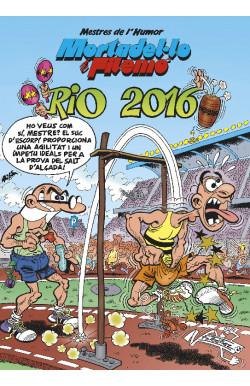 Mortadel·lo i Filemó. Rio 2016 (Mestres de l'Humor 42)