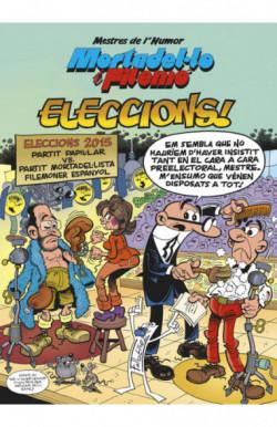 Mortadel·lo i Filemó. Eleccions! (Mestres de l'Humor 45)