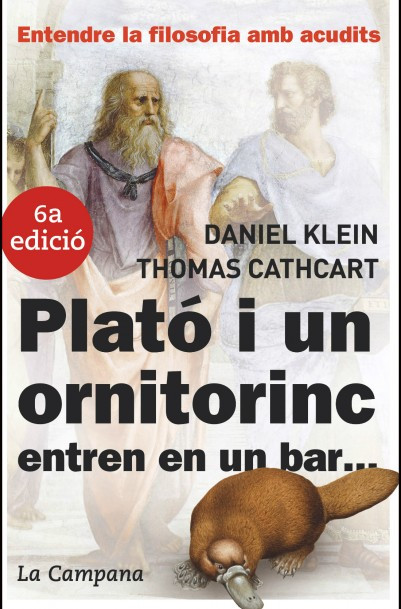 Plató i un ornitorrinc entren en un bar