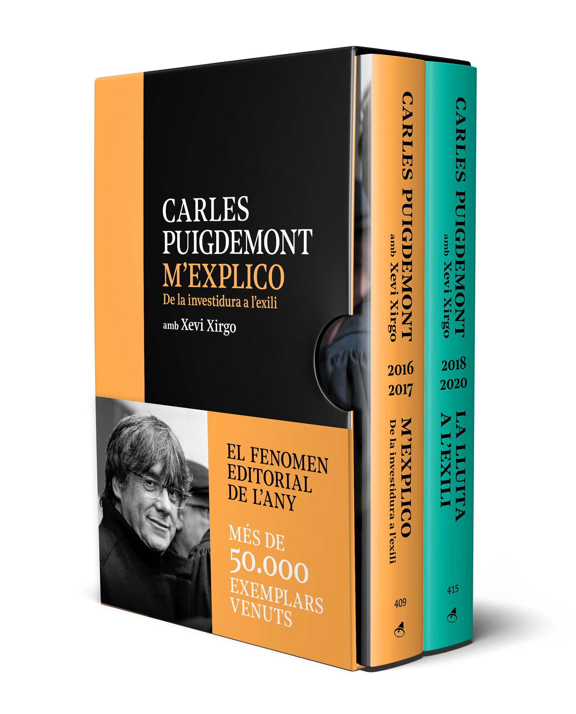 Edició especial (estoig amb M'explico | La lluita a l'exili)